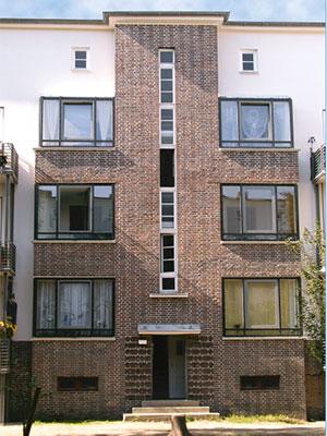 Hannover Gartenstadt - Kreuzkampe, Komplettsanierung unter Denkmalschutz, 74 MFH, für VIVACON AG durch MACON BAU GmbH Magdeburg